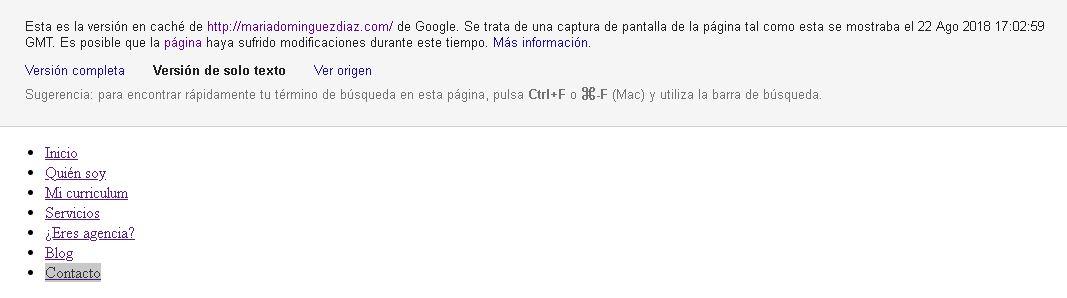 Caché de Google