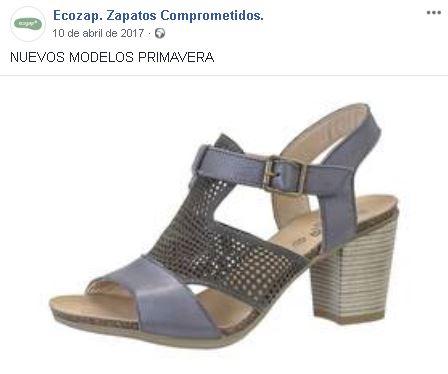 Publicación en Facebook de Ecozap