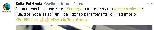 Tuit de Sello Fairtrade